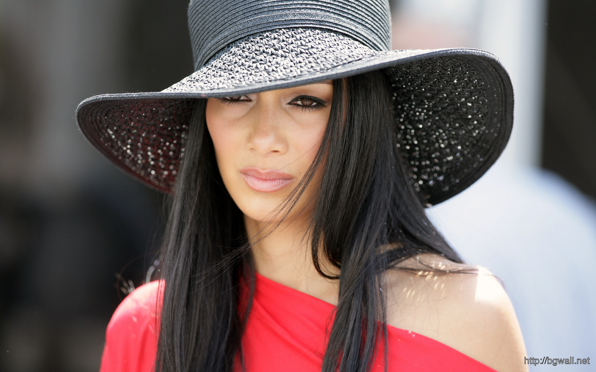 Nicole Scherzinger Great Hat