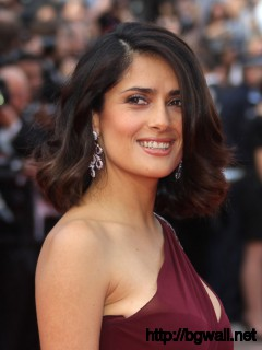 Mexican Actress Salma Hayek Arrives For Full Size