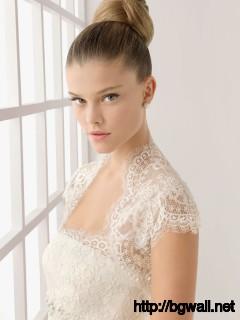 Nina Agdal Rosa Clara Bridal Collectionbeautiful Girls Worldwide Full Size
