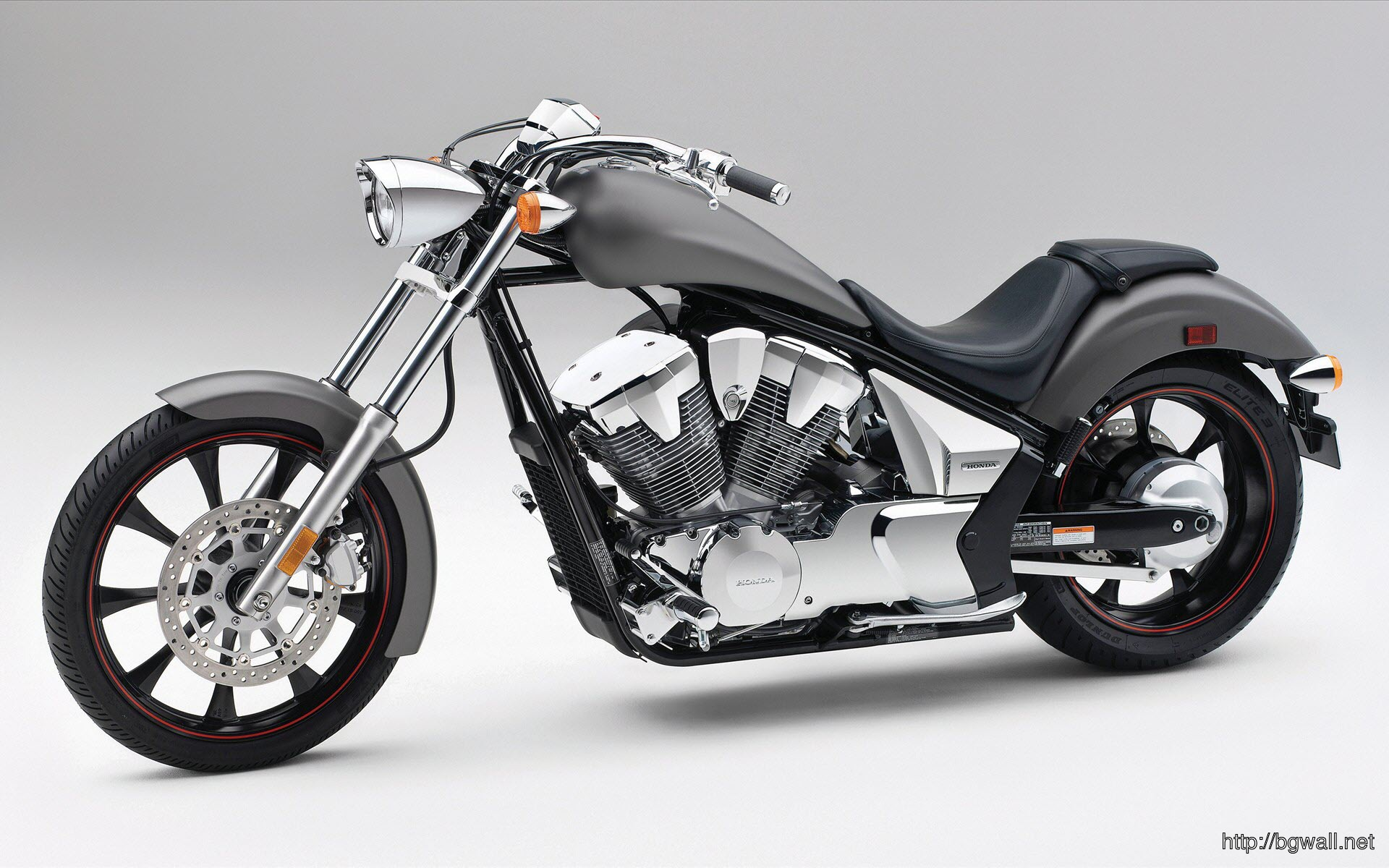 Superb Dark Honda Fury Sports Bike Full Size