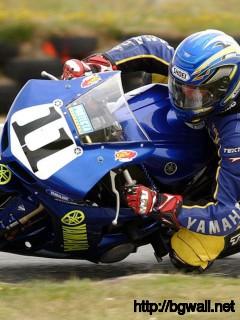 Tony Rees Of Whakatane Riding A Yamaha R1 Full Size