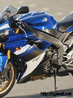 Yamaha Yzf R1 Blue Wallpaper Hdbikewallpapers Com Full Size