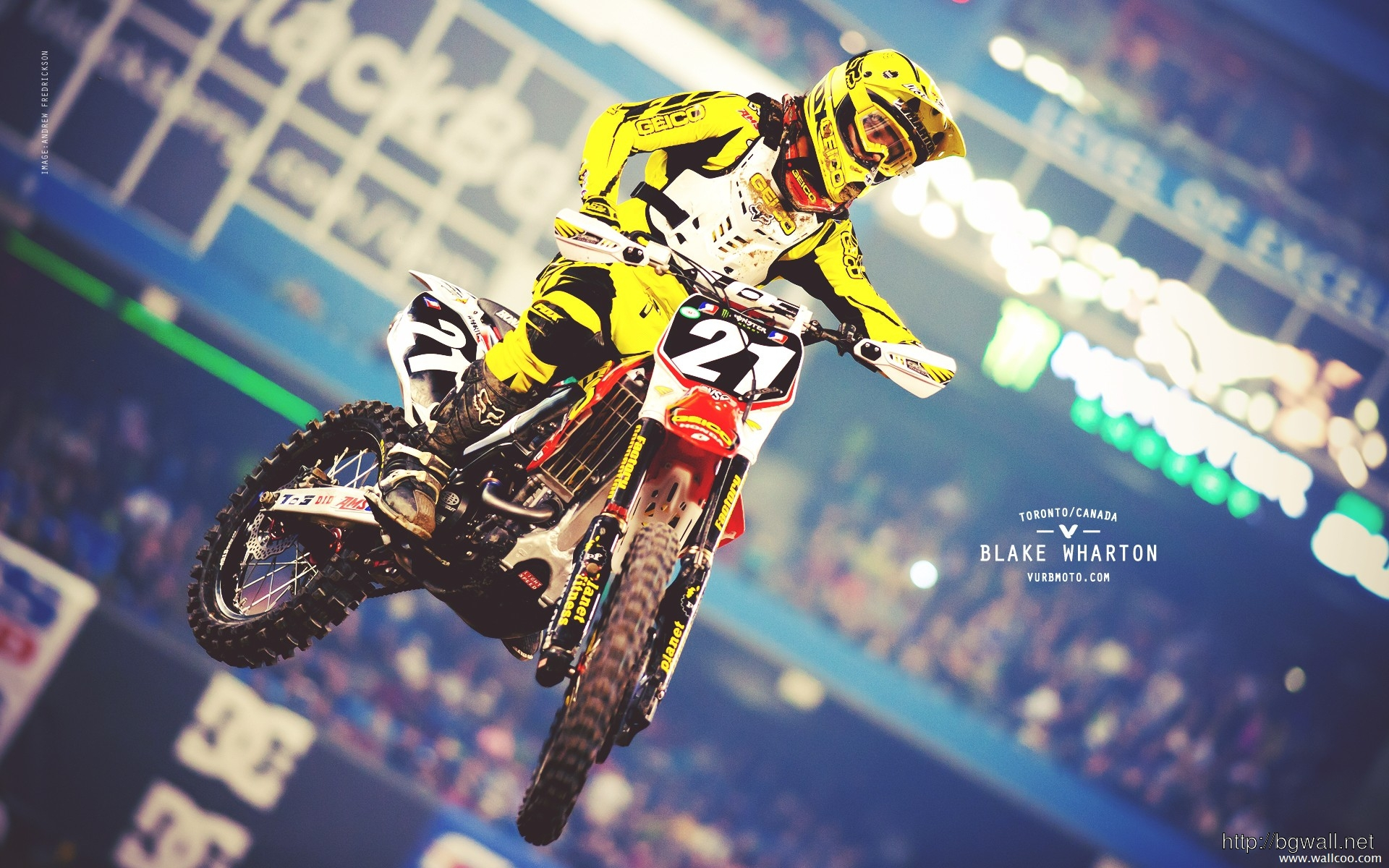 2011 Supercross Toronto Blake Wharton Wallpaper Wallpapers Full Size