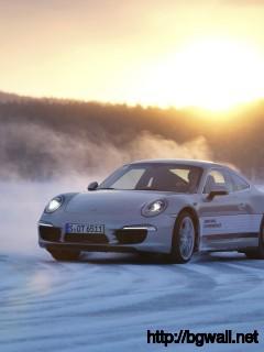 2013 Porsche 911 In Snow Wallpaper In 2560x1600 Resolution Full Size
