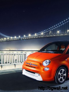 2014 Fiat 500e Wallpaper In 1920x1080 Resolution Full Size