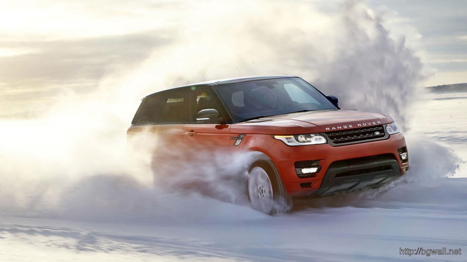 2014 Land Rover Range Rover Sport Wallpaper In 1600x900 Resolution Full Size