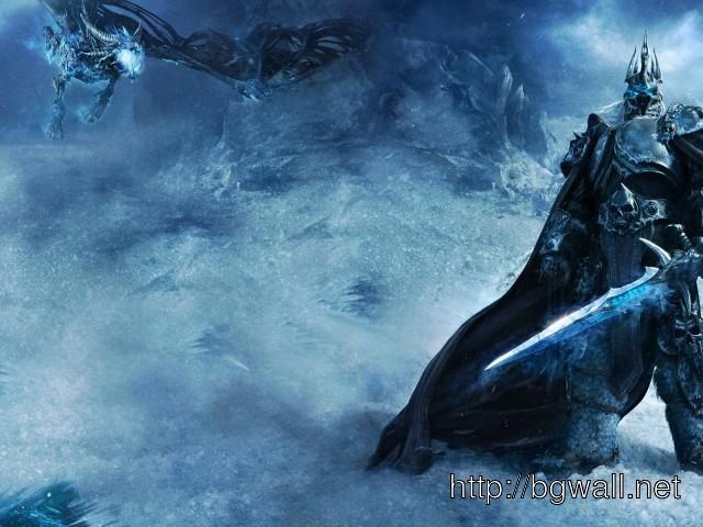 ... Of Warcraft Snow Storm Lich King Game Wallpaper 1900×1200 Pixel