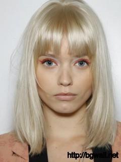 Abbey Lee Abbey Lee Kershaw Bangs Beautiful Blonde Full Size
