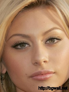 Aly Michalka Sad Face Closeup Wallpaper Full Size