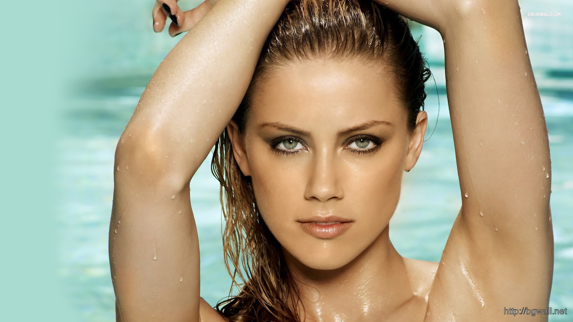 Amber Heard 1920x1080 Wallpaper