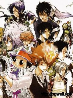 Artbooks Katekyo Hitman Reborn Official Visual Book Reborn Colore Full Size
