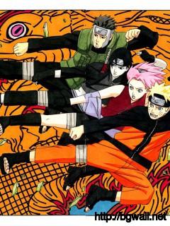 Artbooks Naruto 10th Anniversary Shonen Jump Item 36 Full Size