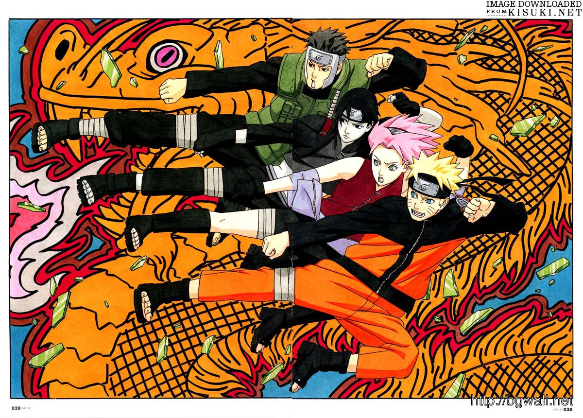 Artbooks Naruto 10th Anniversary Shonen Jump Item 36 Background Wallpaper Hd