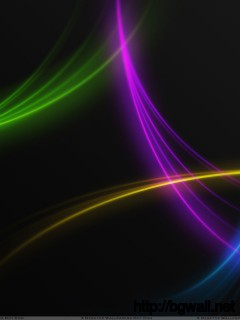 Beautiful Colorful Lines On Black Background Wallpaper Full Size