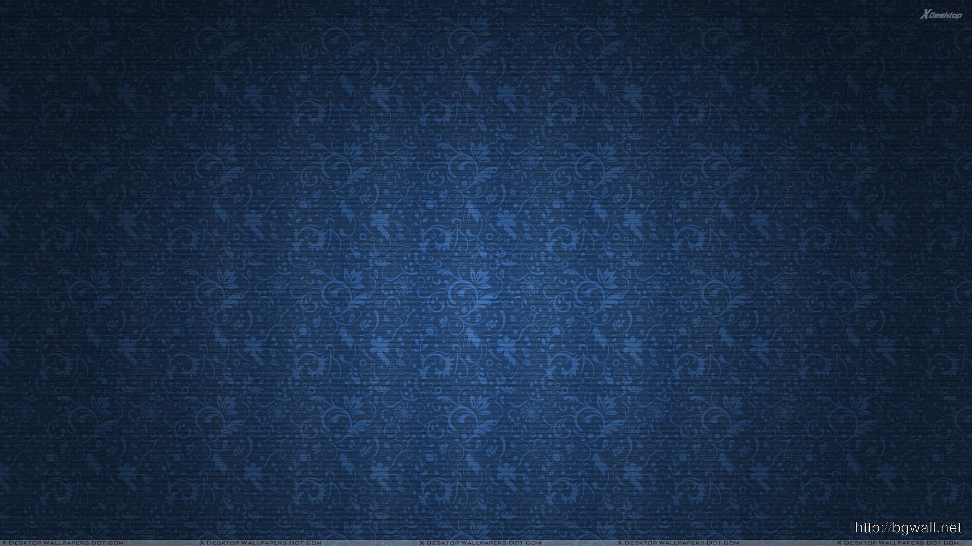 Blue Abstract Background With Flowers On It Wallpaper Full Size
