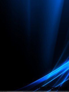 Blue Led Relection On Black Backround Wallpaper Full Size