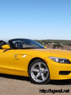 BMW Z4 sDrive28i Yellow
