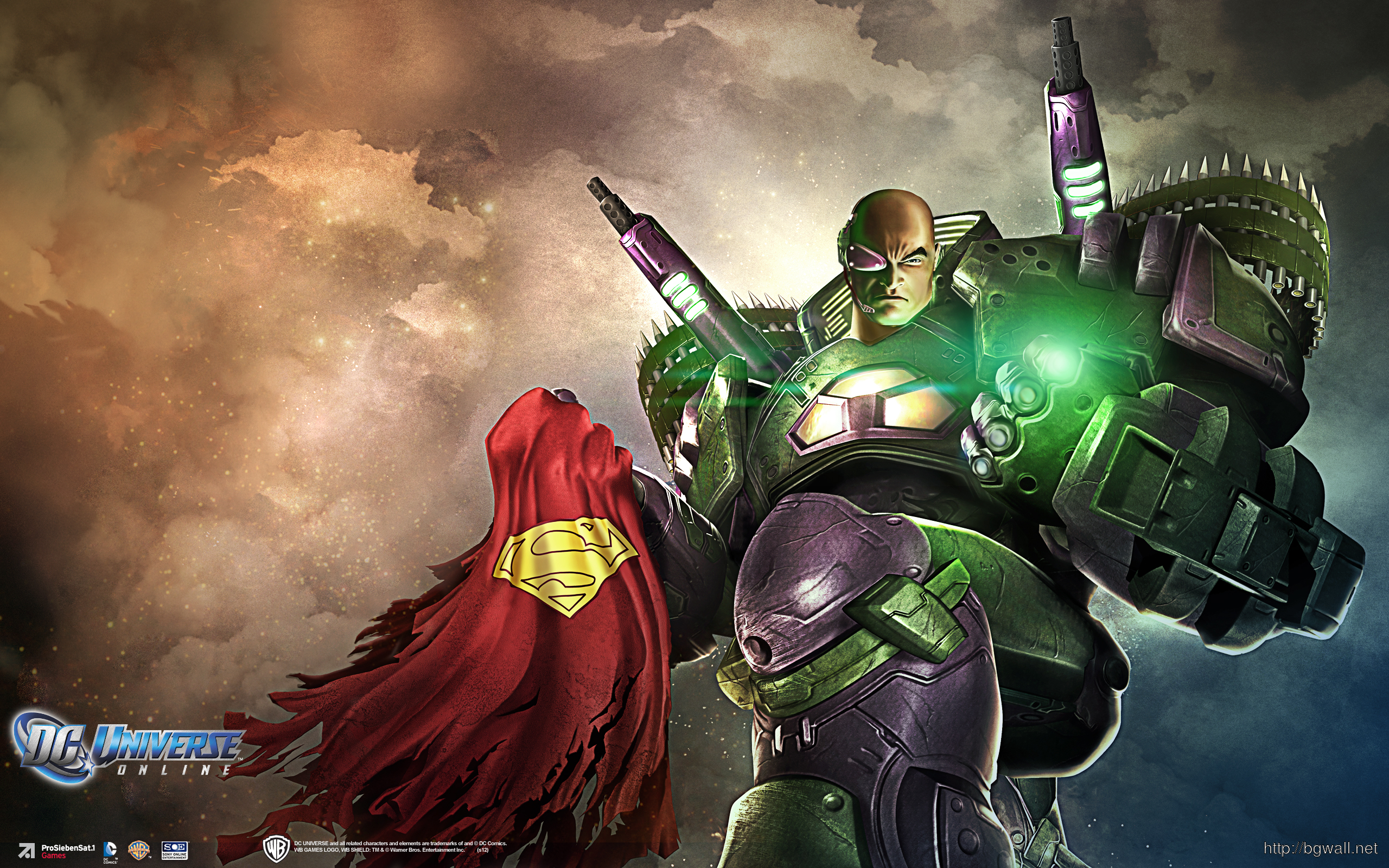 Dc Universe Online Lexluthor Wallpapers Full Size