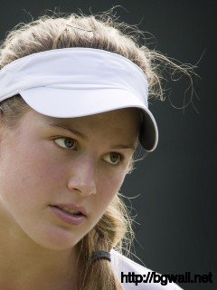 Eugenie Bouchard Cute Close-Up Wallpaper