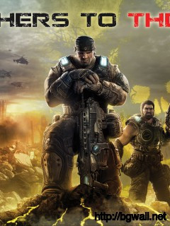 Gears Of War 3 Wallpaper Brothers To The End Full Size