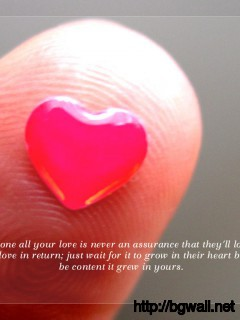 Giving Someone All Your Love Is Never An Assurance That Theyll Love Full Size