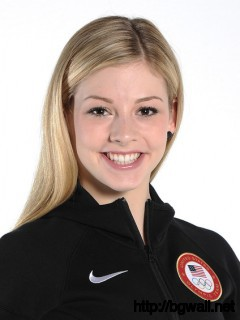 Gracie Gold Figure Skater Gracie Gold Poses For A Portrait During The Full Size