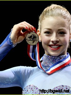 Gracie Gold Wins At Us Nationals 2014 Full Size