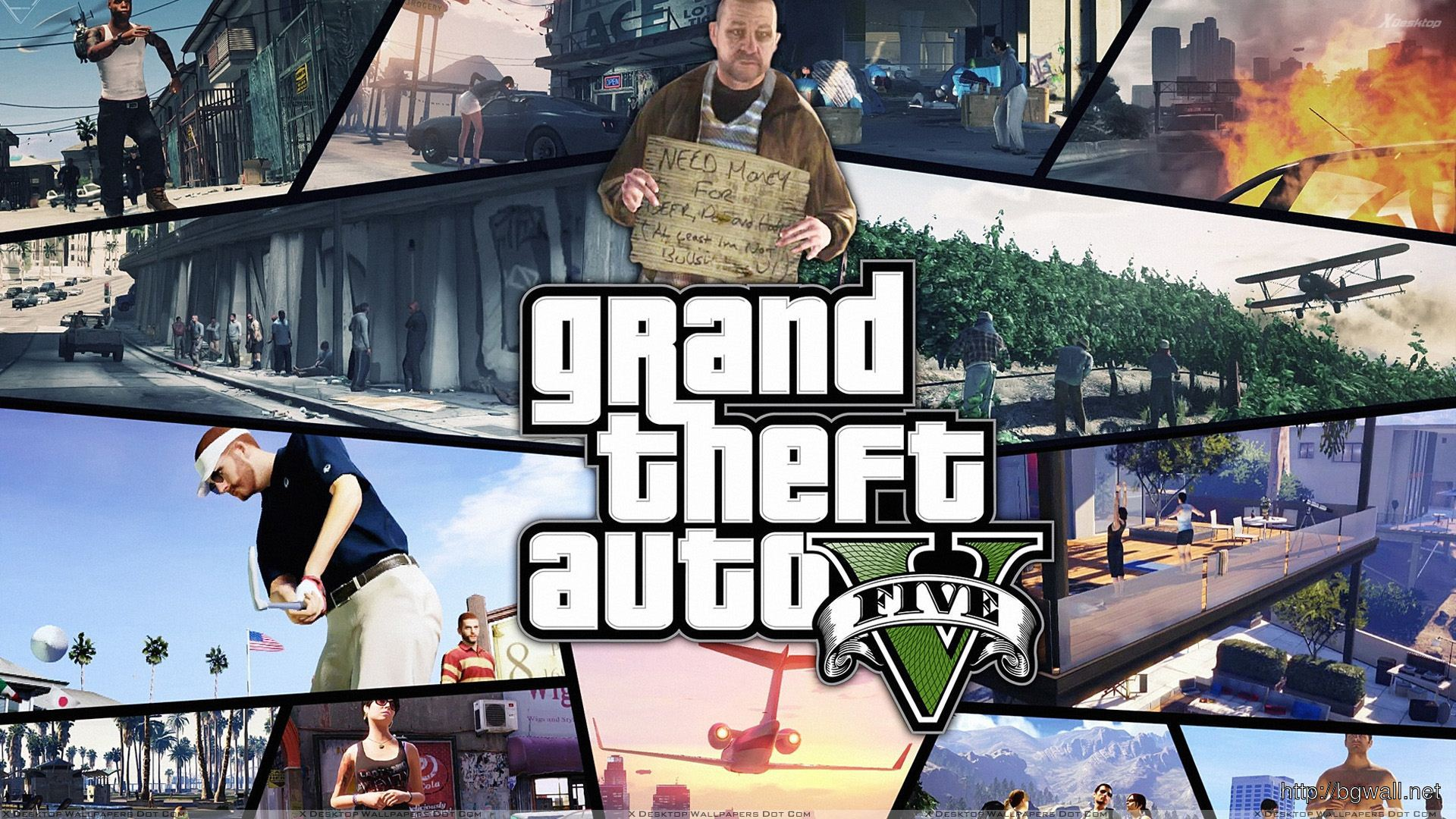 Grand Theft Auto V Different Full Size