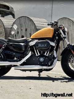 Harley Davidson Forty Eight Una Sportster Diferente Full Size