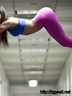 Jen Selter Spiderman on The Wall