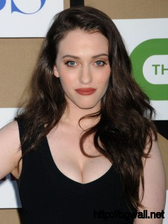 Kat Dennings At Cw Cbs And Showtime 2013 Summer Tca Party Full Size