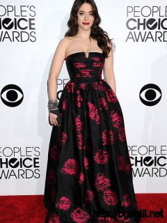 Kat Dennings Peoples Choice Awards 2014 Red Carpet Fashion Pictures Full Size