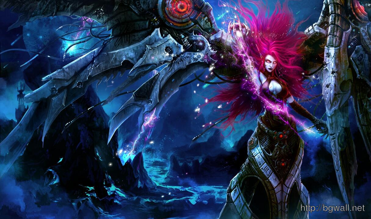League Of Legends Blade Mistress Morgana Wallpaper Full Size