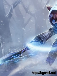 League Of Legends Frozen Ninja Kennen Full Size