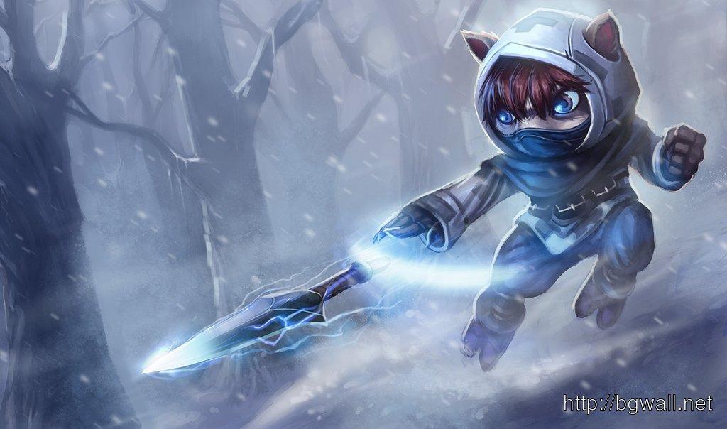 League Of Legends Frozen Ninja Kennen Full Size