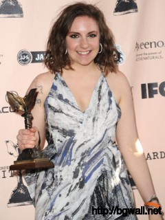 Lena Dunham Actorfilmmaker Lena Dunham Winner Of Best First Full Size