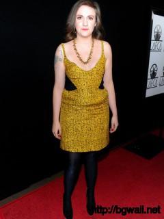 Lena Dunham Actress Lena Dunham Arrives At The 36th Annual Los Angeles Full Size