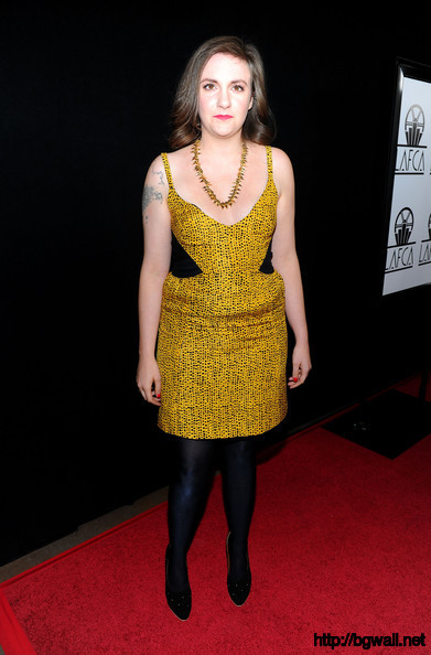 Lena Dunham Actress Lena Dunham Arrives At The 36th Annual Los Angeles Full Size