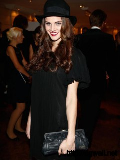 Lisa Tomaschewsky Am 19 Oktober 2013 Beim Audi Generations Award In Full Size