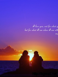 Love You Not For What You Are But For What I Am When I Am With You Full Size