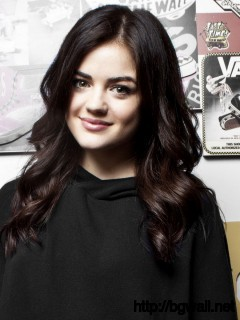Lucy Hale In Black Full Size