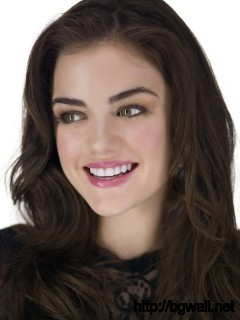 Lucy Hale Precious Smile Full Size