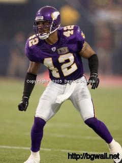 Safety Darren Sharper 42 Of The Minnesota Vikings Plays Defense Full Size
