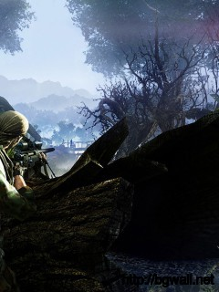 Sniper 2 Ghost Warrior Jungle Full Size