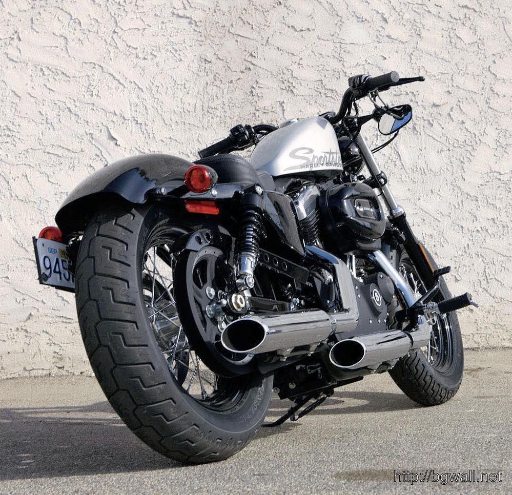 Test Motocyklu Harley Davidson Forty Eight Naleznete V Casopise Full Size