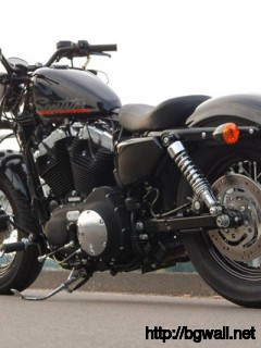 Testbericht Harley Sportster 48 Full Size