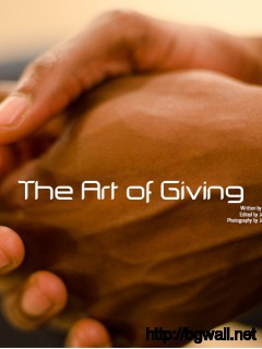 The Art Of Giving Full Size