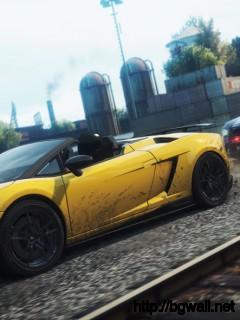 Yellow Lamborghini Gallardo Spyder Performante