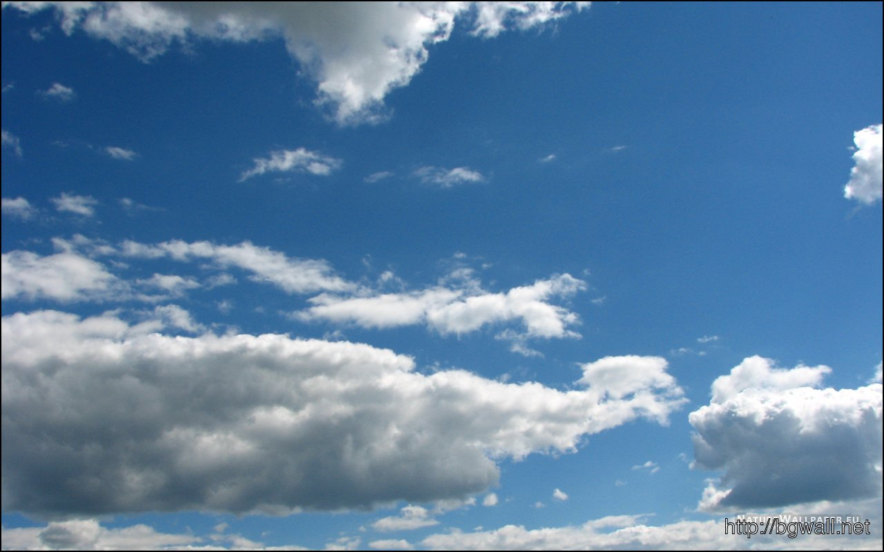 1280x800 Wallpaper Clouds In The Sky Wallpaper Background