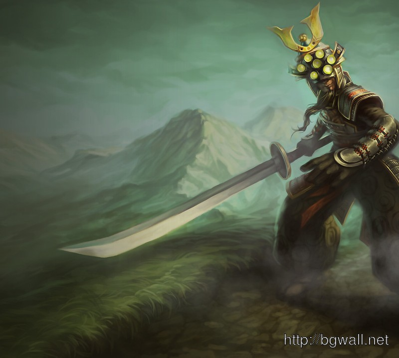 League Of Legends Samurai Master Yi Wallpaper Full Size ...